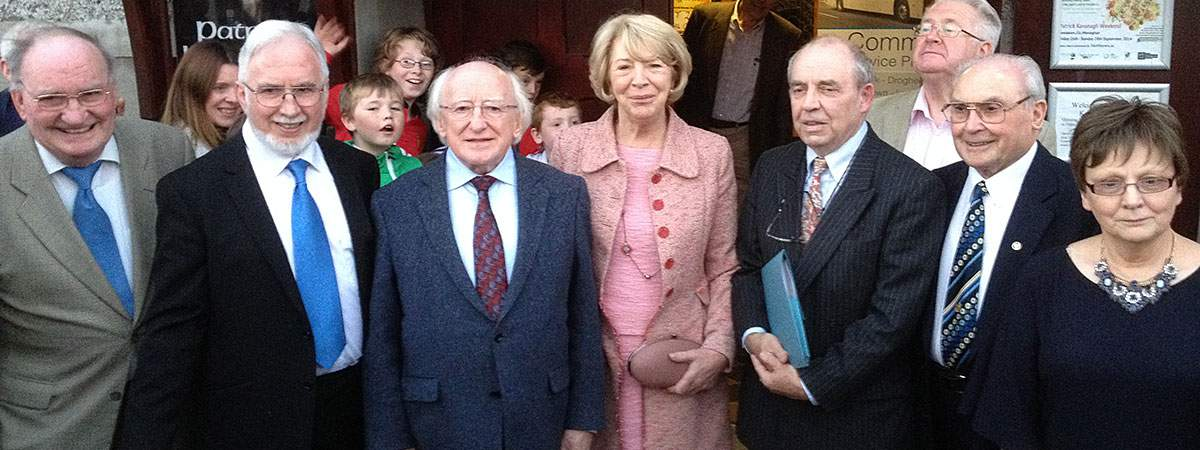President of Ireland, Michael D. Higgins