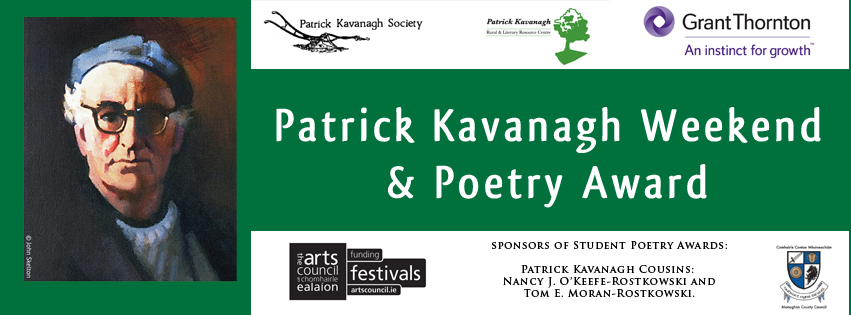 Patrick Kavanagh Weekend & Poetry Award 2018